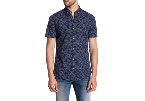 Lindbergh All Over Printed Shirt S/S