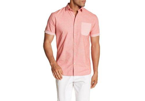 Lindbergh Twist Weave Shirt S/S