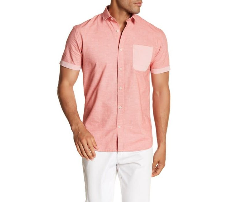 Twist Weave Shirt S/S Style: 30-29287