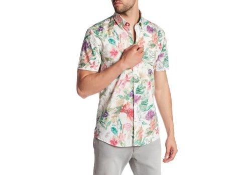 Lindbergh Floral Printed Shirt S/S