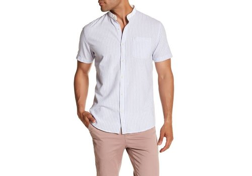 Lindbergh Band collar striped shirt S/S Style: 30-29291