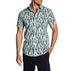 Lindbergh Feather Printed Shirt S/S Style: 30-29293