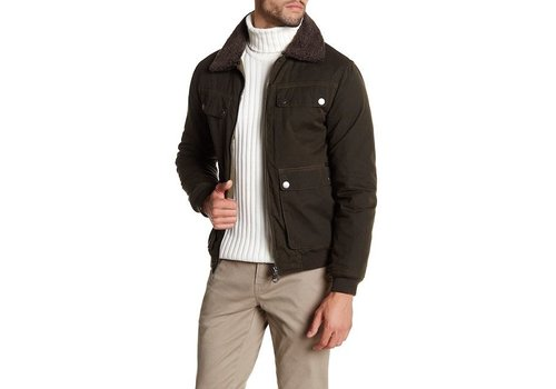 Lindbergh Jacket with pile collar Style: 30-34151