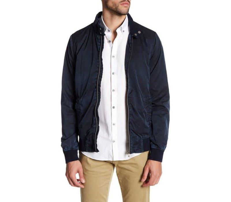 Short Garment Dyed Zip Jacket: 30-36044