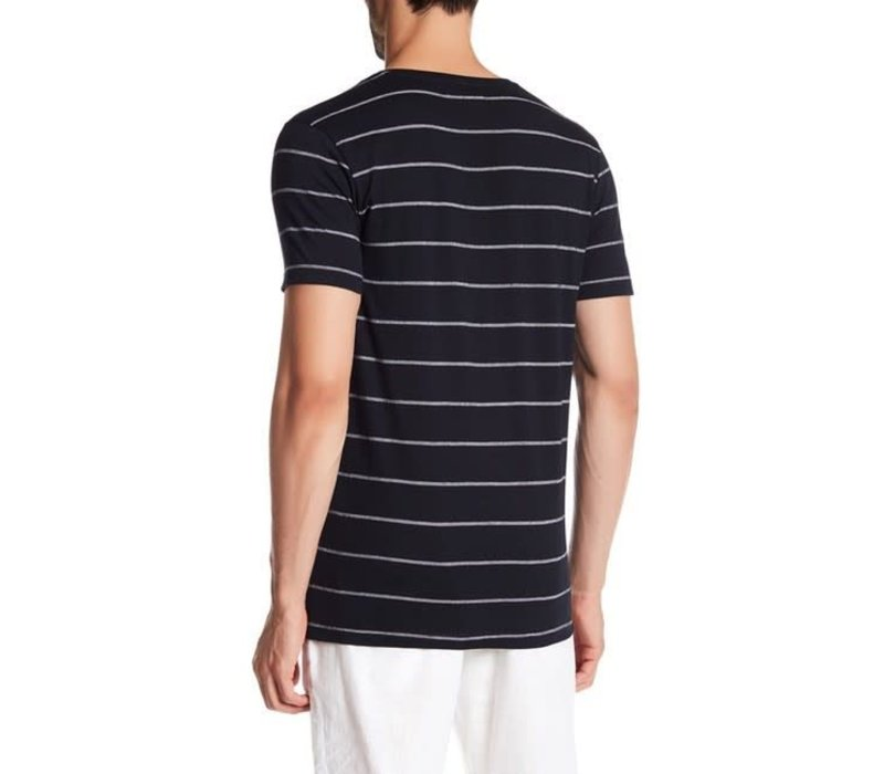 Y/D Striped Tee S/S: 30-48093
