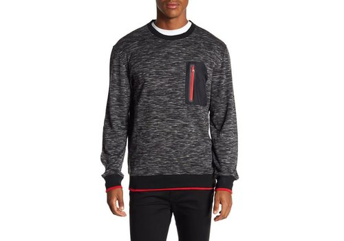 Lindbergh Crew-Neck W. Pocket