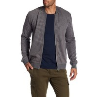 Quilted Zip Cardigan Style: 30-73037