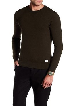 Lindbergh Cotton Knit W. O-Neck L/S