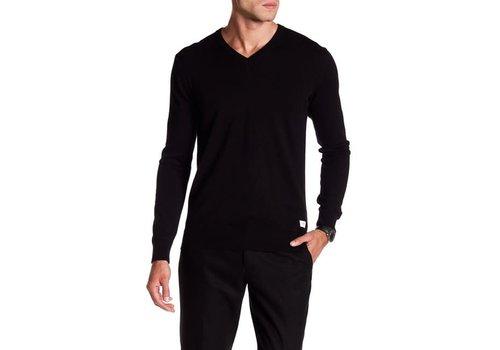 Lindbergh Cotton knit with v-neck Style: 30-81129