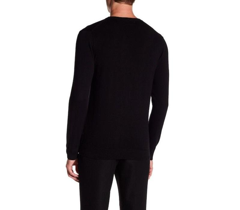 Cotton Knit W. V-Neck L/S Style: 30-81129