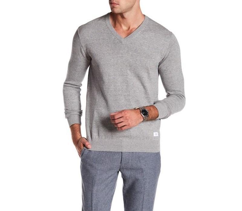 Cotton Knit W. V-Neck L/S: 30-81129