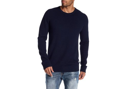 Lindbergh Drop needle o-neck knit Style: 30-85127