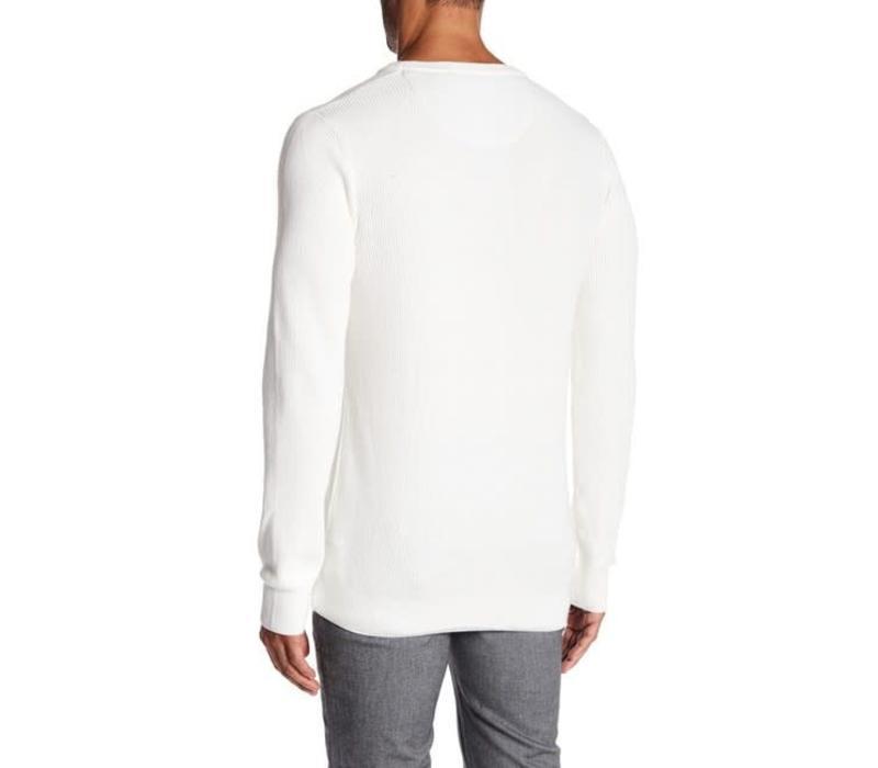 Drop Needle O-Neck Knit L/S Style: 30-85127
