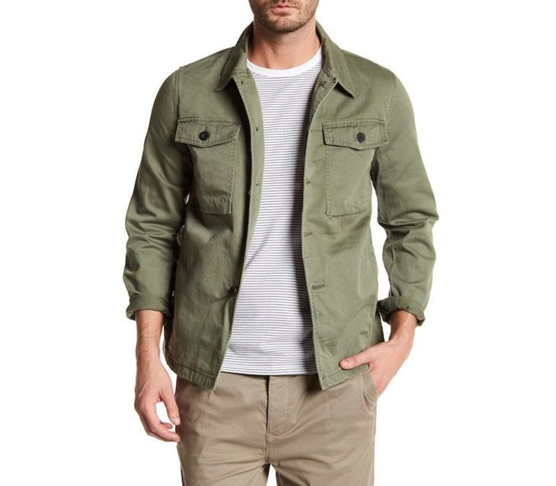 Military L/S outer shirt