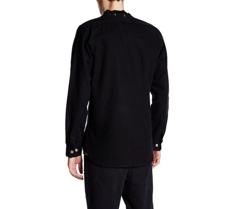 Zip thru canvas shirt Style: 60-20512