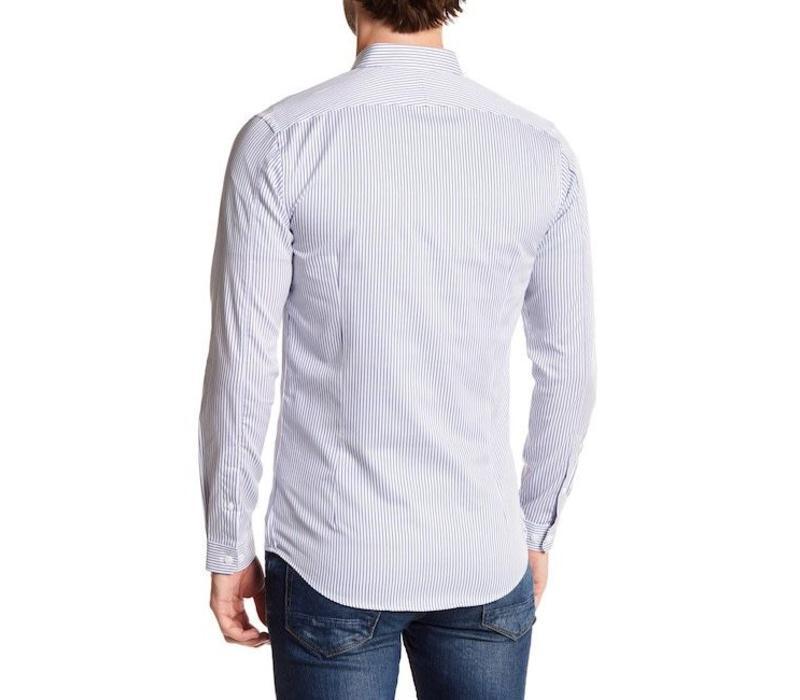 Bold stripe L/S dress shirt Style: 60-20238