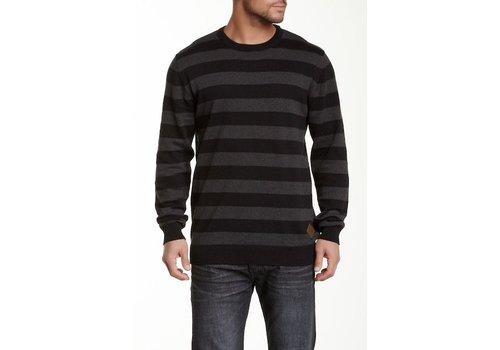 Shine-Original Striped O-Neck Knit L/S
