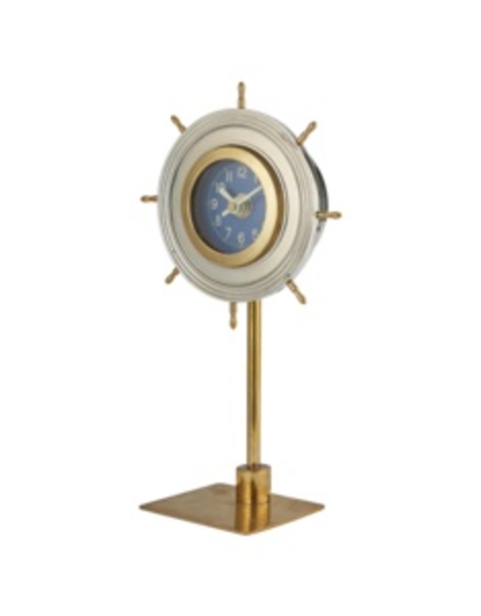 Pendulux Skipper Table Clock Aluminum