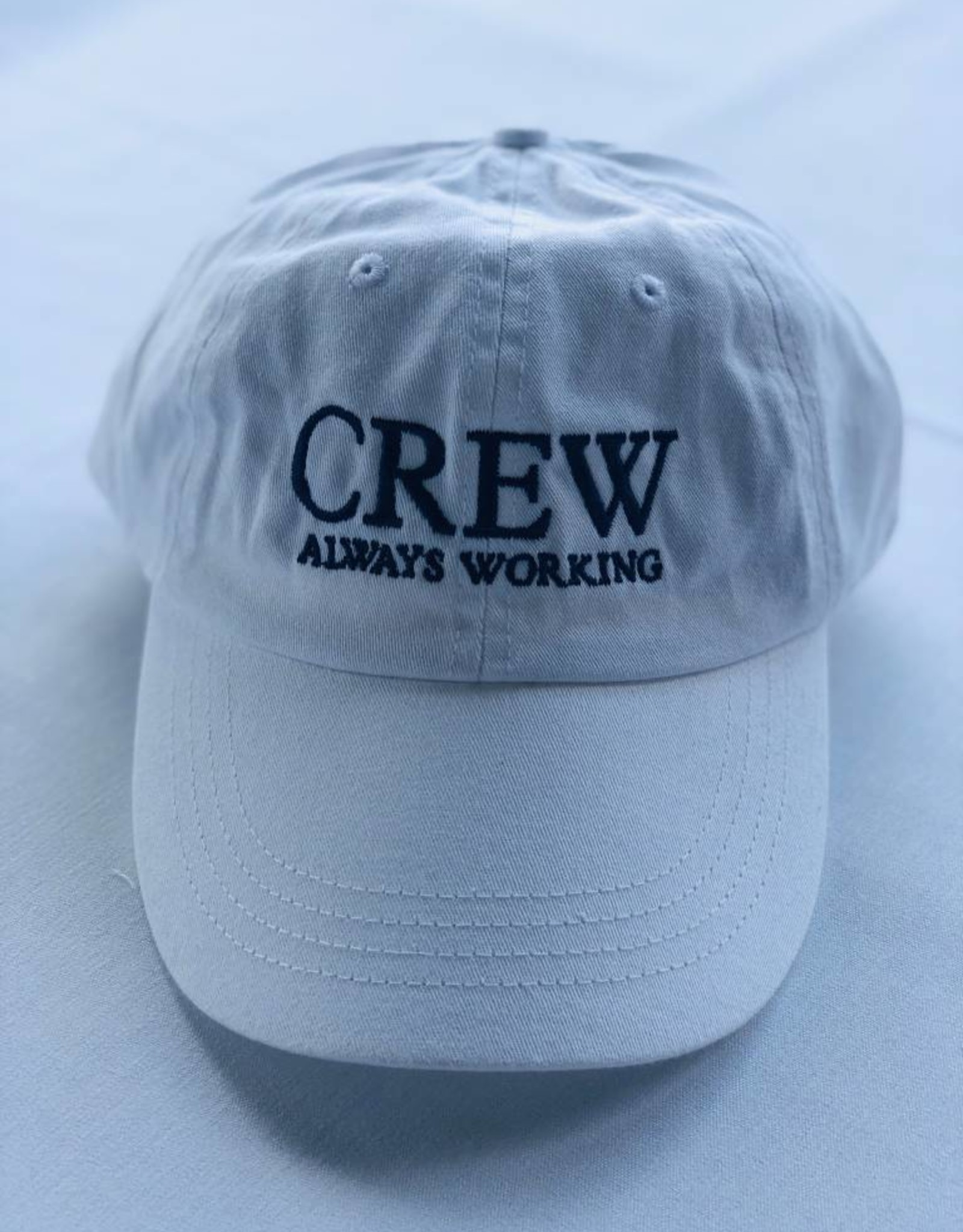 BOATHOUSE CREW ALWAYS WORKING AQUA HAT