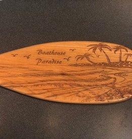 Unique Custom Paddles BOATHOUSE PARADISE PADDLE