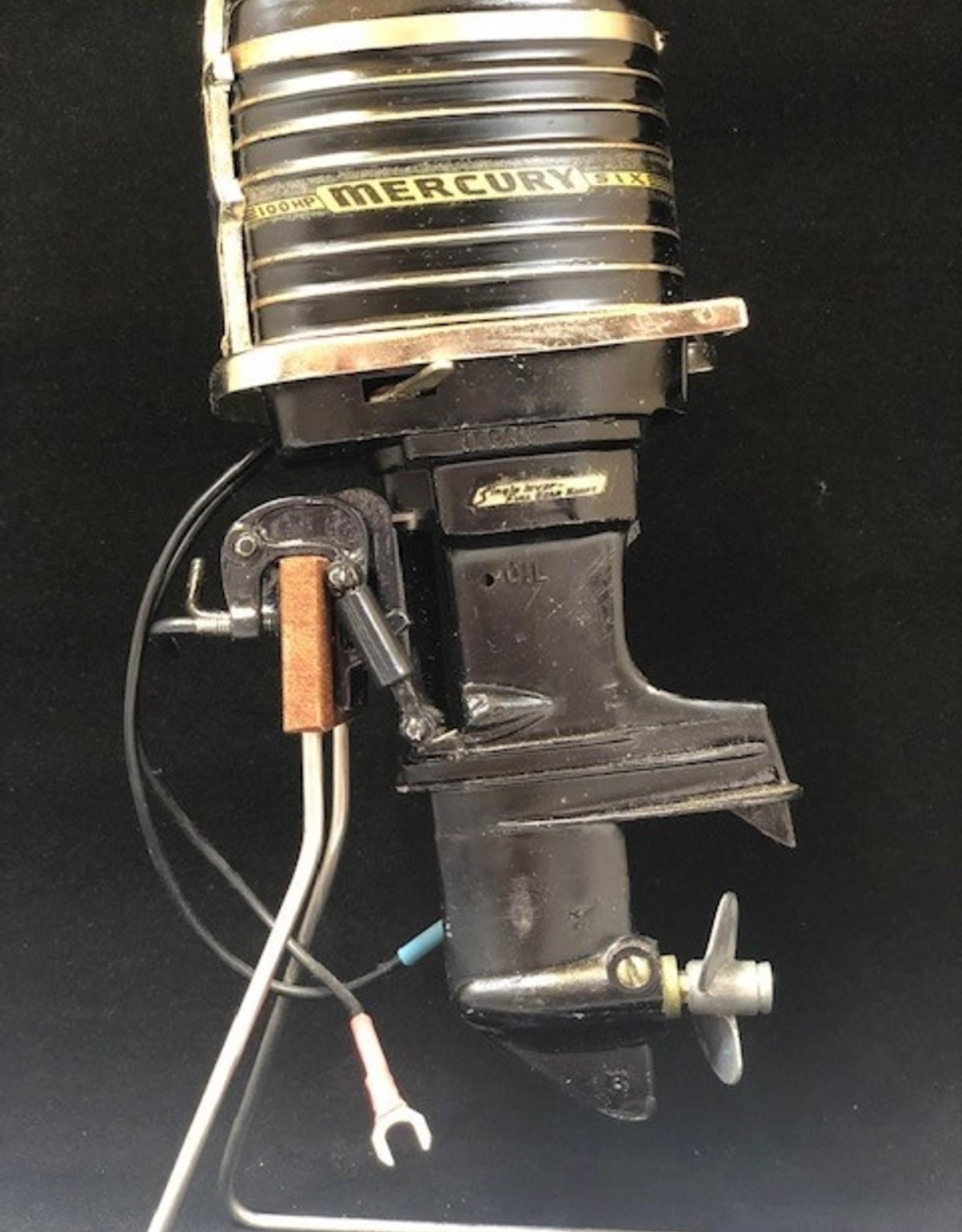 WALTER (BUZZ) LAMB 1962 MERCURY 100HP BLACK MINI MOTOR