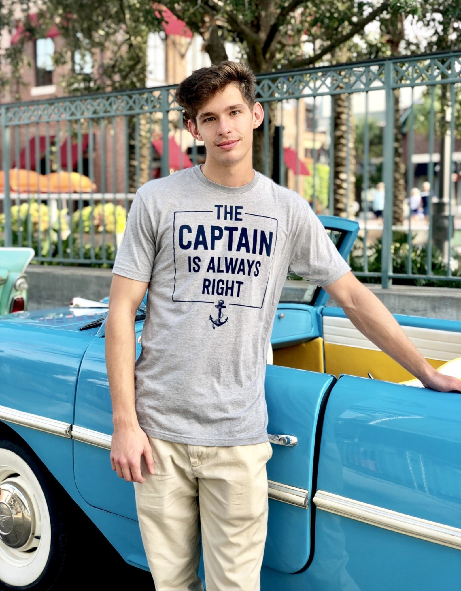 THE CAPTAIN IS ALWAYS RIGHT 2019 TEE