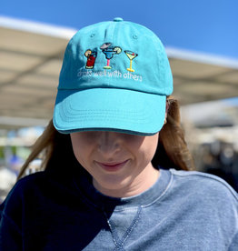 DRINKS WELL WITH OTHERS HAT AQUA