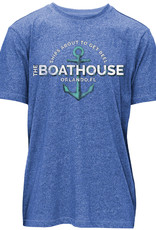 SHIP'S ABOUT TO GET REEL SHORT SLEEVE TEE
