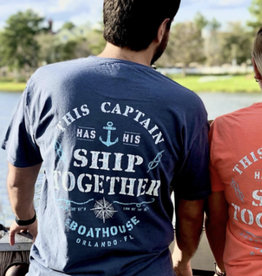 THIS CAPTAIN HAS HIS SHIP TOGETHER SHORT SLEEVE TEE