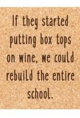 Ellenbee Home BOX TOPS ON WINE COASTER