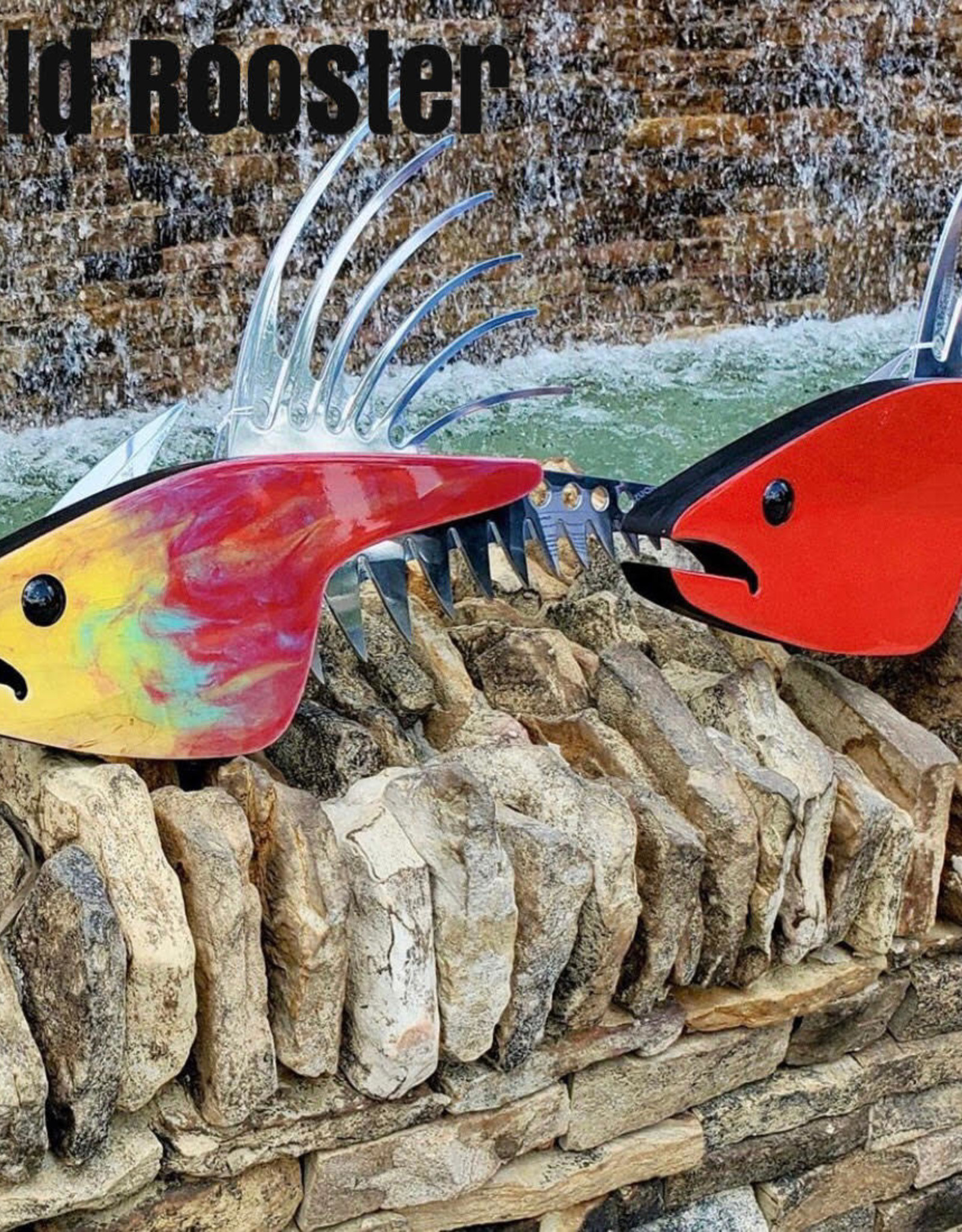 """Finpointe FINPOINTE 32""""  WILD ROOSTER FISH"""
