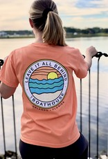 LEAVE IT ALL BEHIND MELON SHORT SLEEVE TEE