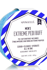 SPONGELLE MEN'S PEDI BUFF BERGAMOT ABSOLUTE 3 OZ