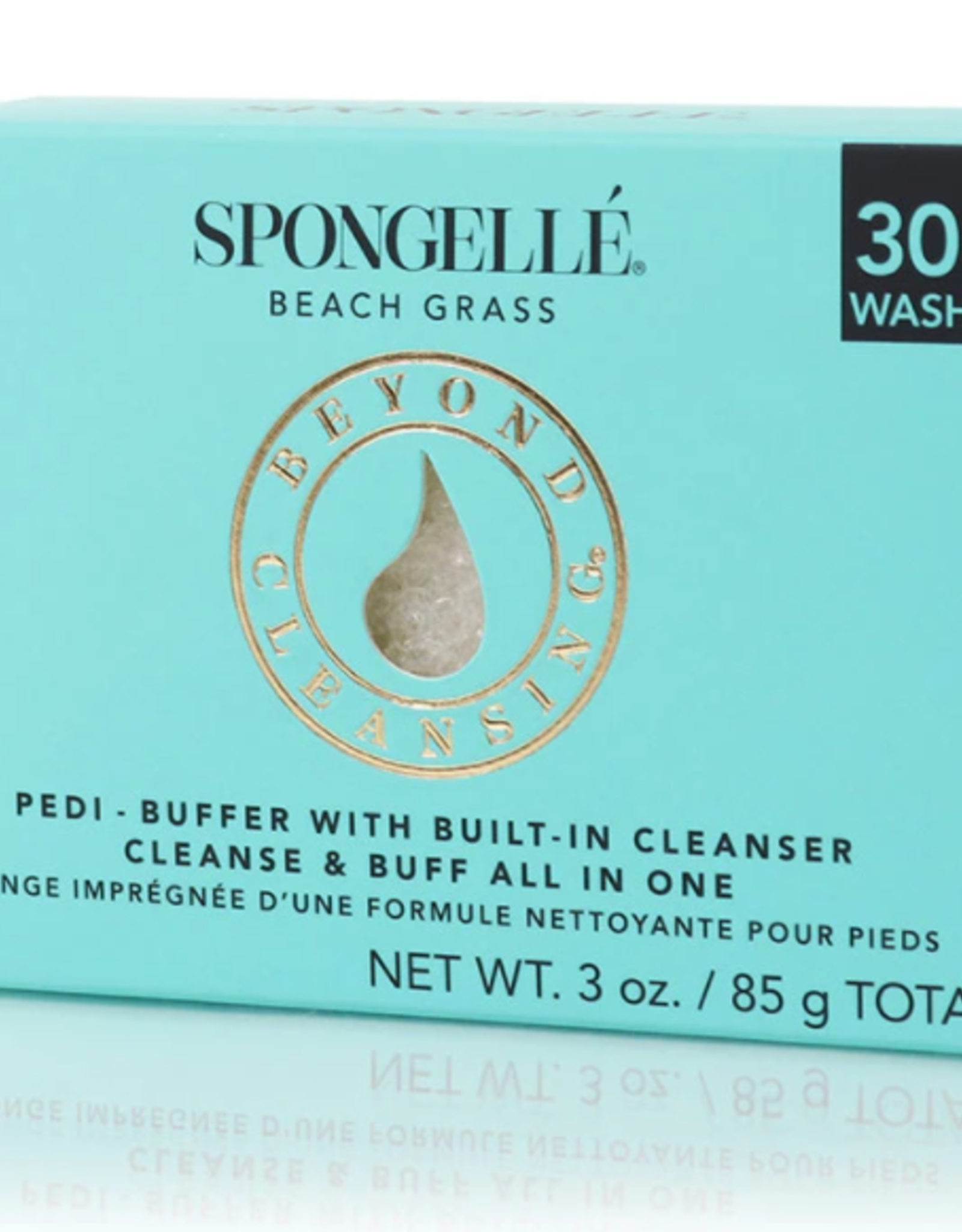 SPONGELLE PEDI BUFFER BEACH GRASS 3 OZ