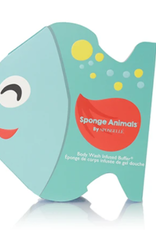 SPONGELLE SPONGE ANIMAL FISH FRUITILICIOUS 2.5 OZ