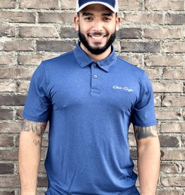 MENS COOLLAST 2 TONE LUX POLO NAVY