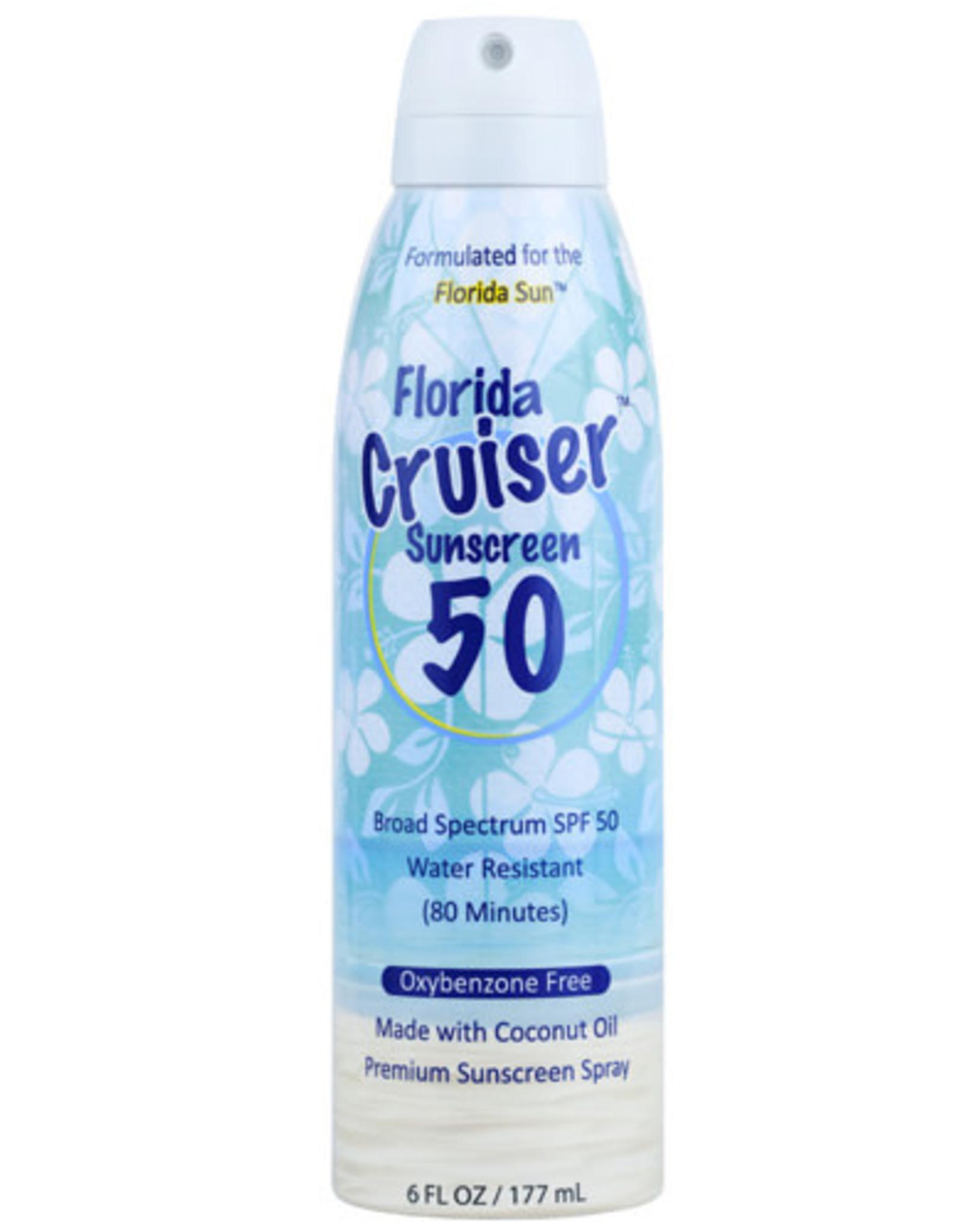 FLORIDA CRUISER SPF 50 SUNSCREEN