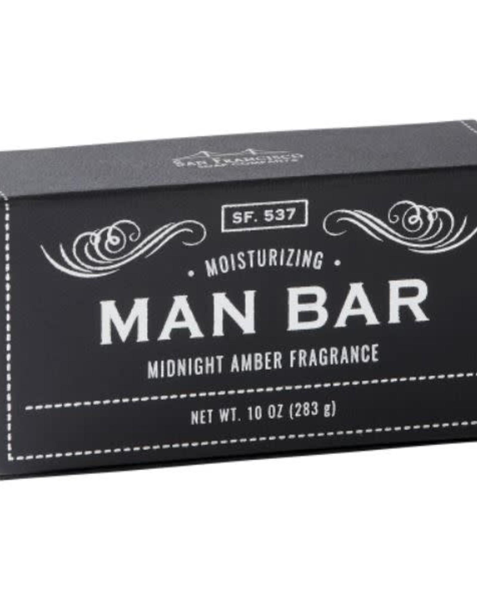SAN FRANCISCO SOAP COMPANY MAN BAR SOAP BAR
