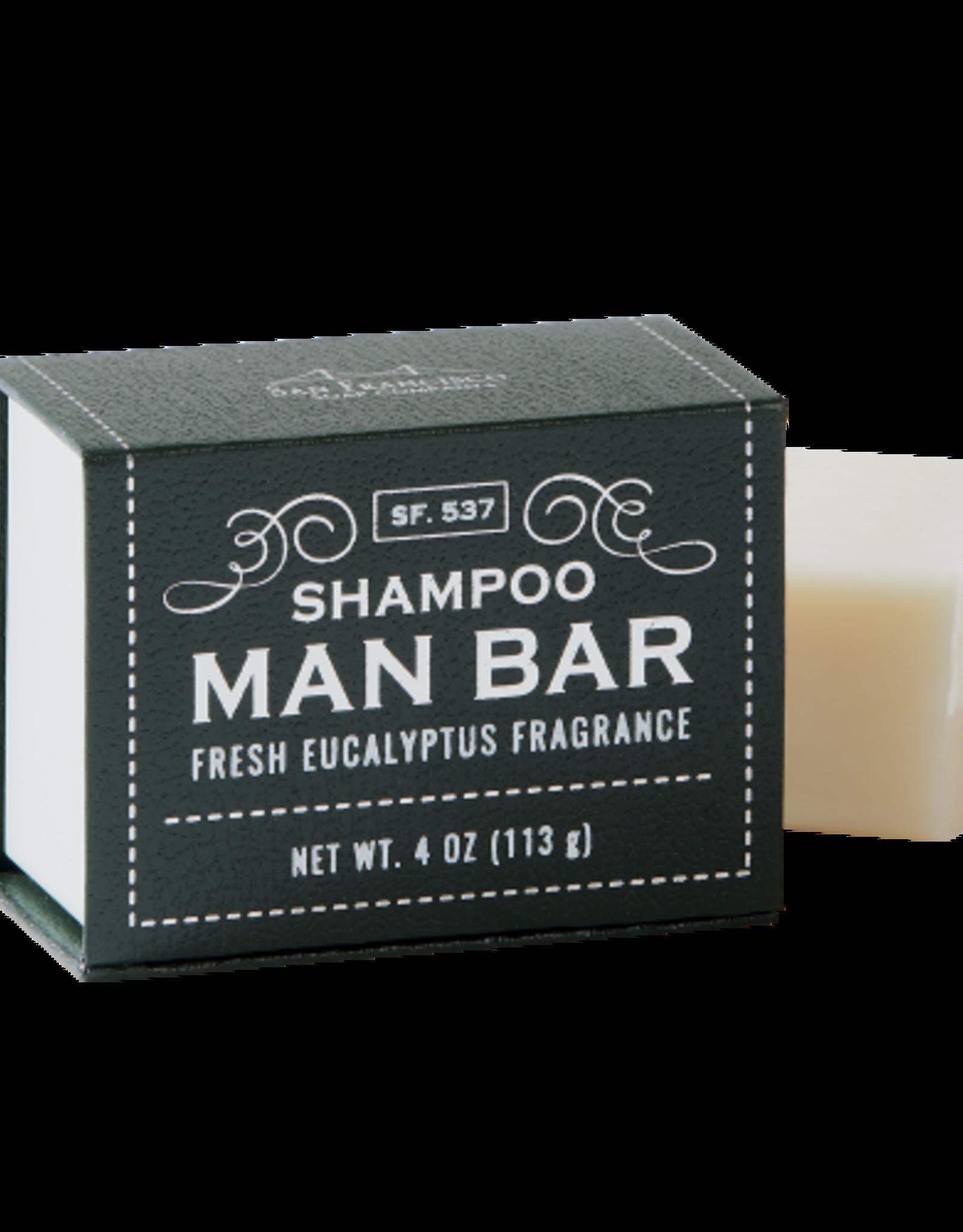 SAN FRANCISCO SOAP COMPANY SHAMPOO BAR EUCALYPTUS
