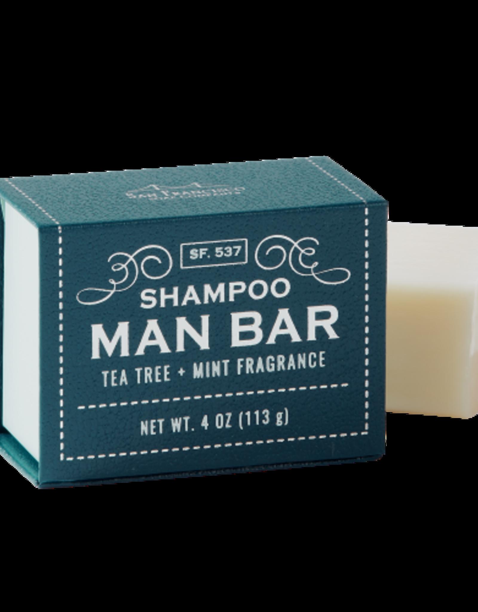 SAN FRANCISCO SOAP COMPANY SHAMPOO BAR TEA TREE AND MINT