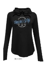 I LET THE CAPTAIN THNK HE IS RIGHT HOODIE
