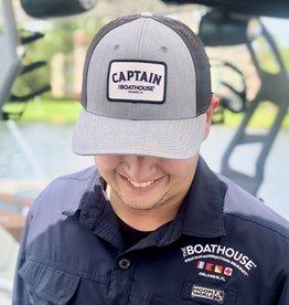 CAPTAIN PATCH HAT HEATHER