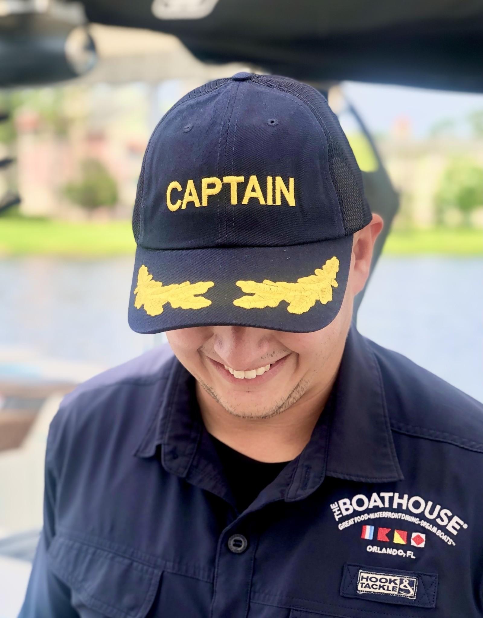 Dorfman Pacific BOATHOUSE CAPTAIN MESH BACK HAT