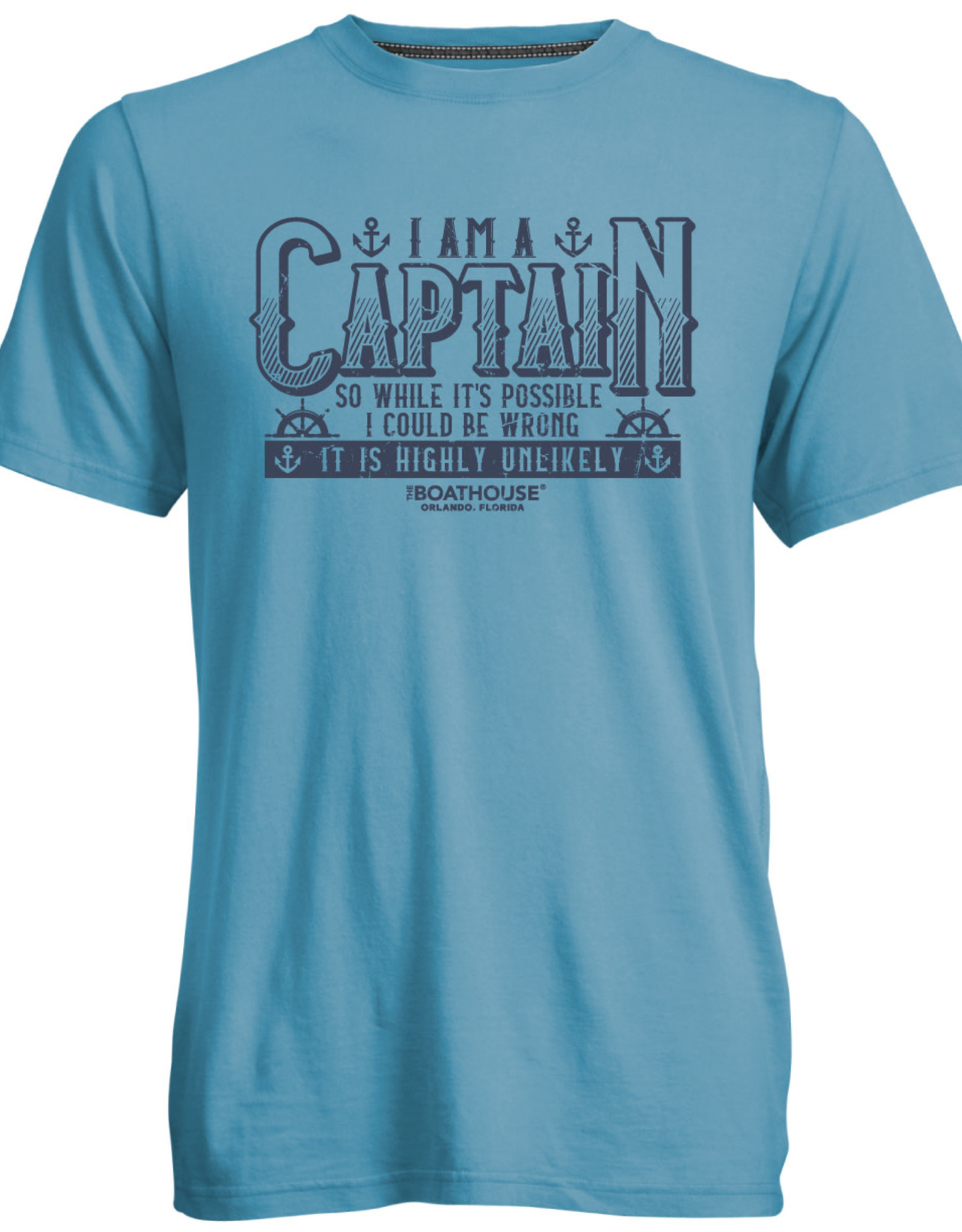 CAPTAIN WRONG HIGHLY UNLIKELY TEE