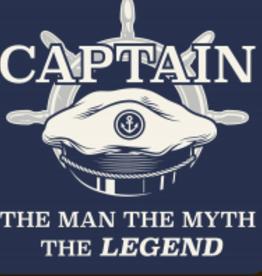 BUCKET WONDERS CAPTAIN MAN, MYTH LEGEND COASTER MAGNET