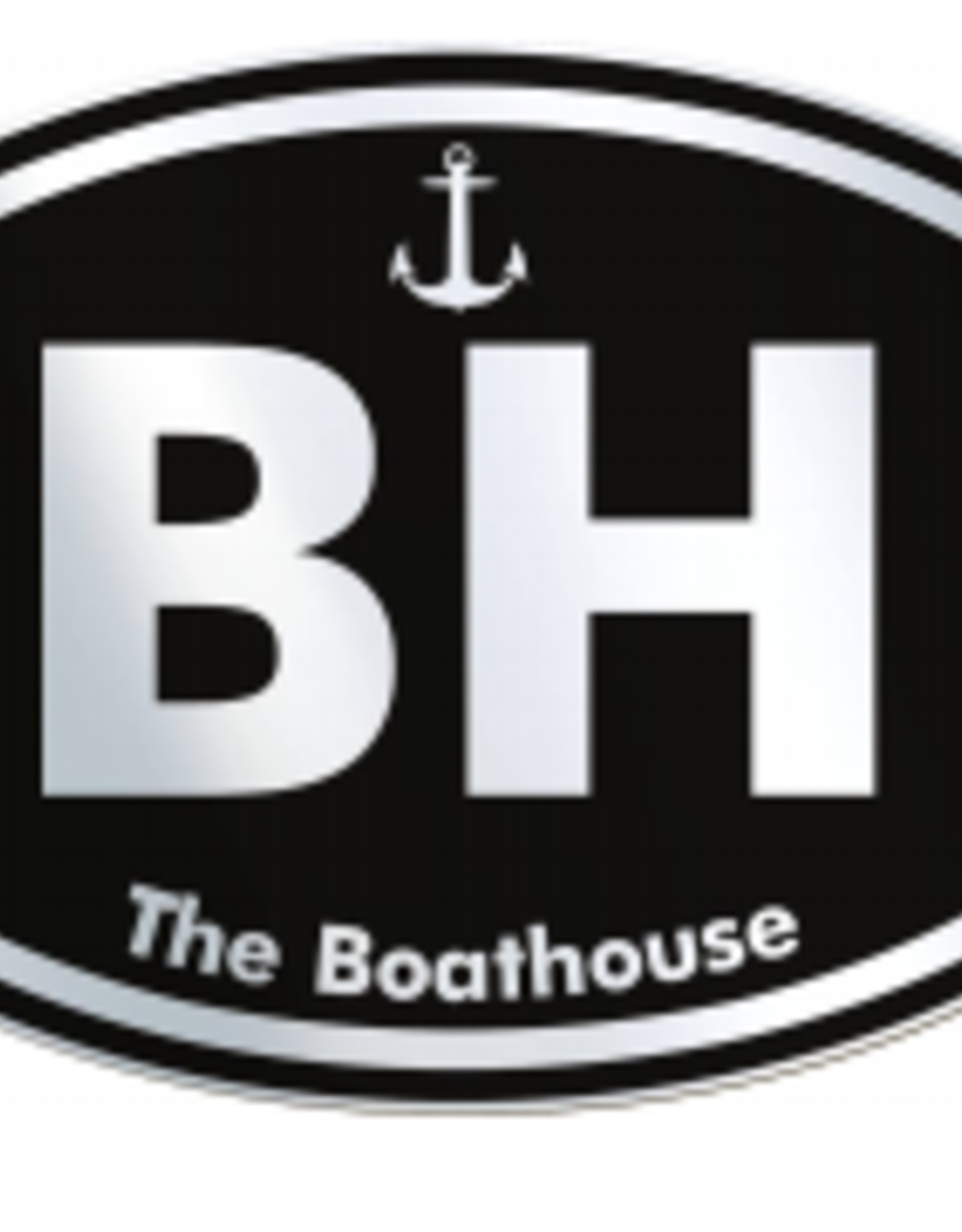 BUCKET WONDERS BW BOATHOUSE BH  CHROME STICKER
