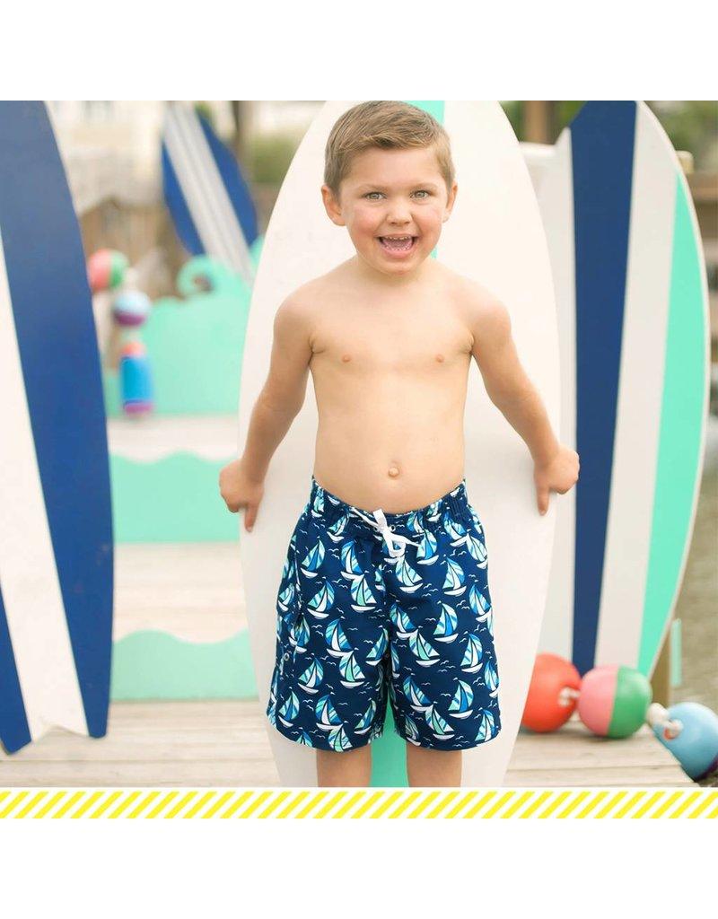 569287b15295c Boys' Swim Trunks - Sea Breeze - Ramsey Rae Boutique