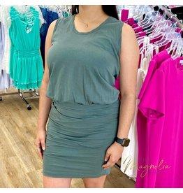Teal Kelsey Dress