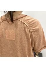 Ginger Short Sleeve Raglan Top