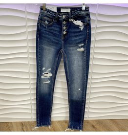 Parkside High Rise Distressed Skinny Jeans